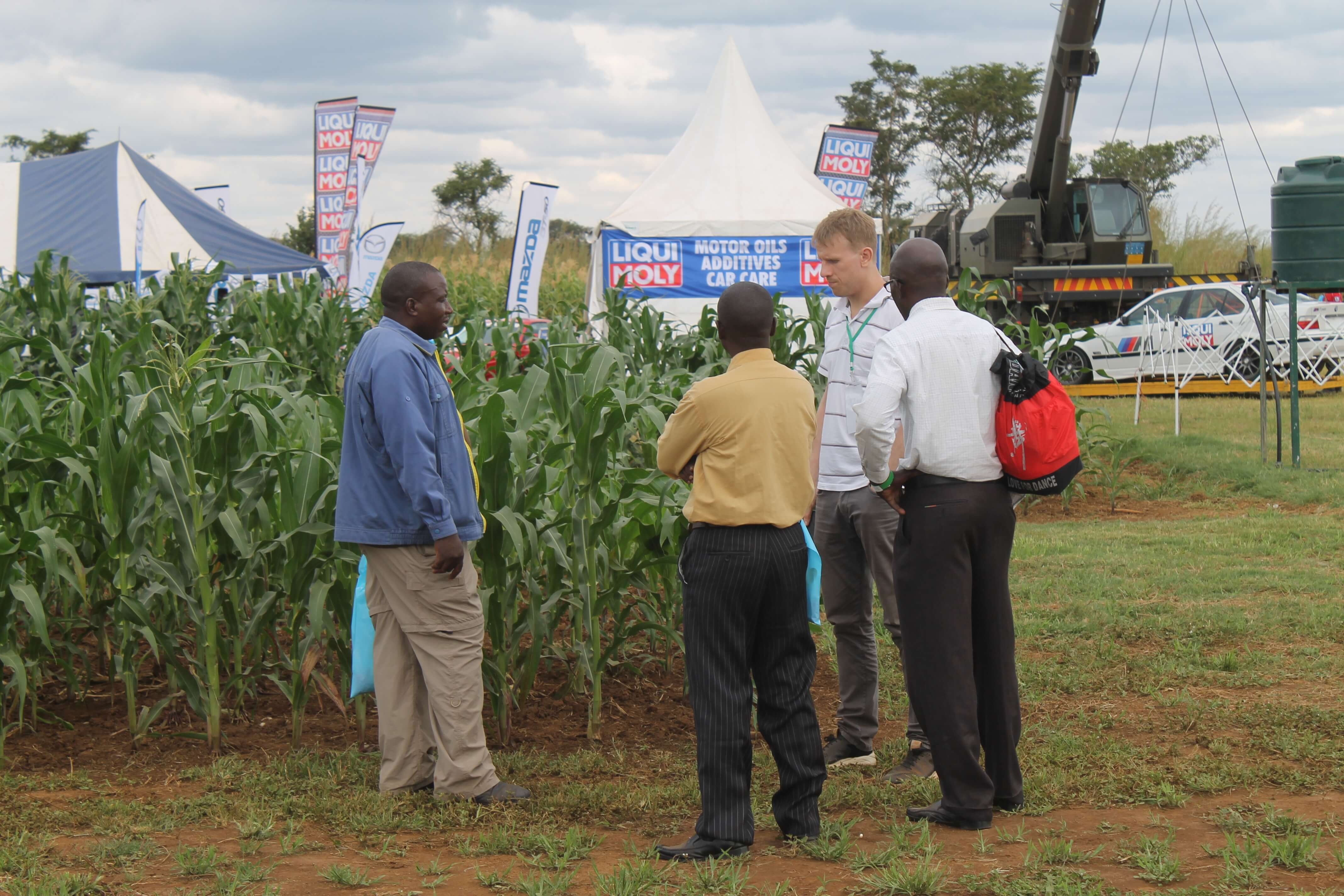 UFCL took part in Agritech Expo Zambia held in Chisamba