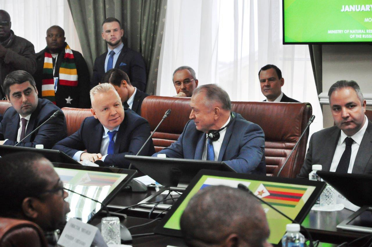 Dmitry Mazepin took part in the meeting of the Russia-Africa